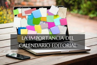 calendario editorial para blogs de escritor